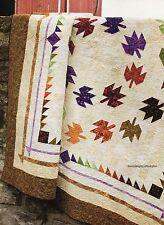 Autumn Ringlets Quilt Pattern Pieced CA