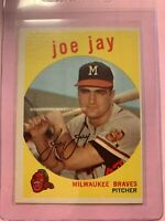 A2299 - 1959 Topps #273 Joey Jay