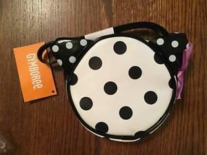 NWT Gymboree Posh and Playful Polka Dot Purse Kitty Ears