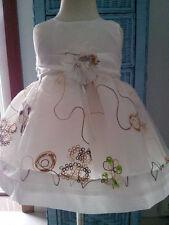Girls christening baptism Dress,wedding,flower girl, occasion size 1