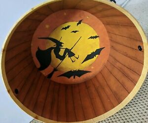 Lang Bob's Boxes Halloween Night Handled Bucket Art by Dan DiPaolo Trick Treat