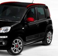 Genuine Fiat Panda Shadow Red Wing Mirror Covers  2012 - Onwards 735551002