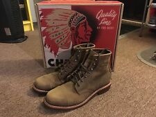 Chippewa Homestead Boots, Crazy Horse, Size 9 Men's