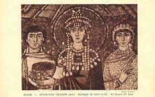 RAVENNA - Emperatriz Teodora (détail) Mosaico San Vital - art Bizantino