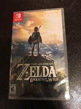Legend of Zelda: Breath of the Wild (Nintendo Switch, 2017) New Sealed