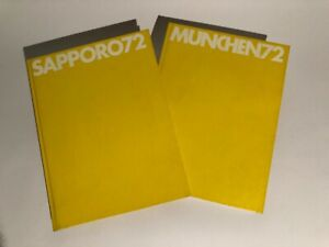 Libro fotografico multilingue: olimpiadi Munchen 72 e Sapporo 72 - doppio volume