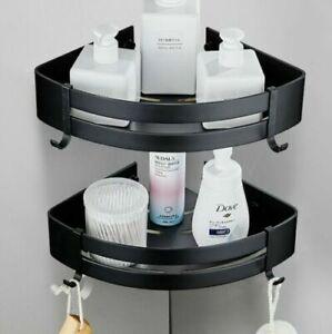2 Shower Caddy Shelf Rust Free Bathroom Shelves Corner Basket Organiser BathTray