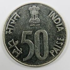 C003-45 # INDIA | NOIDA PARLIAMENT, 50 PAISE, 1990, VF