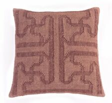 Indian Hand Woven Kelim Cushion Cover Jute Cushion Outdoor Pillow Sham