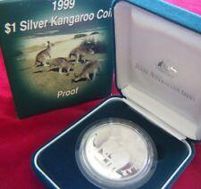 1999 Kangaroo Silver Proof 1 oz Coin - Royal Australian Mint