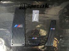PEDALE in alluminio Nero Designer Rest Set Si Adatta BMW e60 AUTO transimission