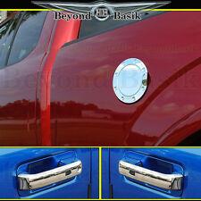 2015-2017 F150 Front Chrome Door Handle(1KEYHOLE,W/SMART KEY)+Gas Door Cover