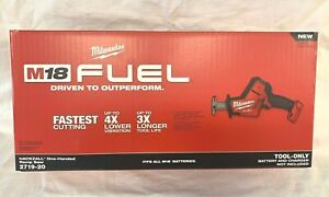 Milwaukee 2719-20 M18 FUEL Hackzall (Bare Tool) Brushless (New In Retail Pack)