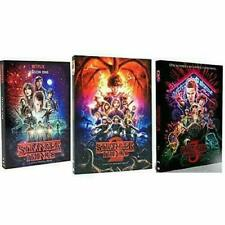 Stranger Things: The Complete Seasons 1-3 ( Dvd, 8-Disc Set ) Brand New