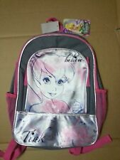 "Disney Tinkerbell Tink Believe 16"" Girls Back Pack Book Bag Nwt"