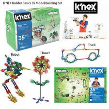 Official K'NEX Imagine Construction Builder 446 Pc 35 Model Building Basics Set