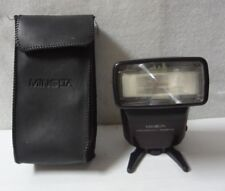 Minolta Program 3500 xi Shoe Mount Flash Stand and Case for parts   -25