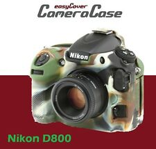 EasyCover Camouflage for the Nikon D800 Protective Silicone Camera Armor