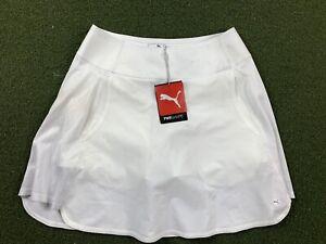 Puma Pwrshape Fashion Skirt Bright White Women's SZ S ( 595856 02 )