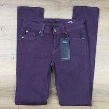 Fidelity Stevie Mid Rise Skinny Twilight Purple Women's Jeans Size 26 NWT (MM18)