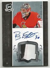 07-08 The Cup Brian Elliott Auto Jersey Patch Rookie Card RC #152 056/249 Mint