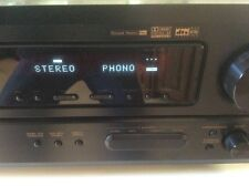 DENON AVR-1803 A/V RECEIVER 5.1 CHANNEL STEREO BUNDLE W/REMOTE & INSTRUCTIONS