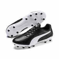 Puma Monarch Fg Football Boots Shoes 105610 Studs Black
