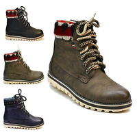 WOMENS BOOTS LADIES NEW ANKLE WINTER SNOW BOOTS SHOES SIZE 3,4,5,6,7 SKATE SURF
