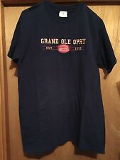 GRAND OLE OPRY T-SHIRT ESTABLISHED 1925 EMBROIDERED T-SHIRT SIZE MEDIUM
