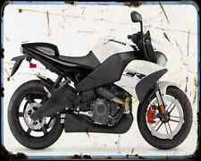 Buell 1125Cr 10 A4 Metal Sign moto antigua añejada De