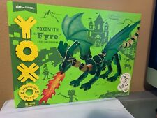 Yoxo Fyre 61 Piece Construction 3D Dragon Creative Building Kit 3' Nib