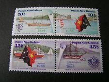 PAPUA NEW GUINEA, SCOTT # 608(PR)+609(PR) COMPLETE 1984 BRITISH NEW GUINEA MNH