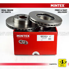 NEW MINTEX FRONT VENTED BRAKE DISCS SET PAIR MDC1557