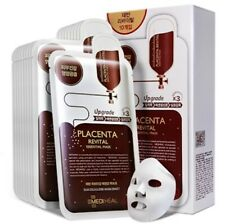 [MEDIHEAL] Placenta Revital Essential Facial EX Skin Mask Sheet 10 pcs K-beauty