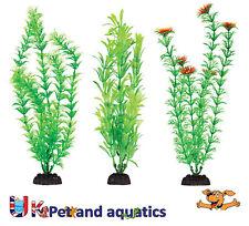 """ACQUARIO Plastica Piante 12"""" Penn Plax, confezione da 6 VERDE assortiti"""