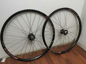 Chris King ISO Hubs / DT Swiss EX 5.1D 110mm x 20mm / 135mm QR Brown Wheels