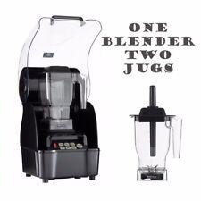 More details for omniblend pro commercial blender + enclosure + 2 jugs ice smoothie milkshake bar