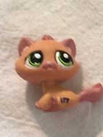 Littlest Pet Shop #1710 Cat Kitten Green Eyes LPS