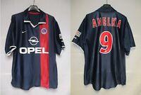 Maillot PSG PARIS SAINT-GERMAIN 2002 NIKE ANELKA vintage shirt maglia jersey S