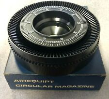 Airequipt circular magazine for a slide projector.