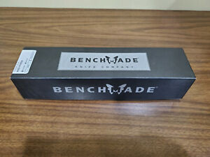 """Benchmade 112SBK-BLK H20 Fixed Dive N680 Serrated Blade Knife """"NEW"""""""