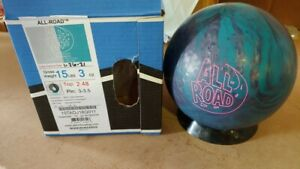 New 15# Storm All-Road Bowling Ball Q001
