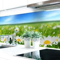 Küchenrückwand Blumenwiese Premium Hart-PVC 0,4 mm selbstklebend