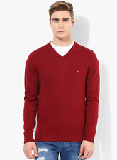 Tommy Hilfiger Red Sweater Jumper (Size Small) RRP $140