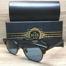 DITA Legends Statesman Two Sunglasses Matte Black DRX 2051 CTBLK Authentic 50mm