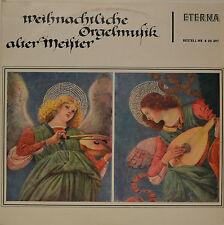 """WEIHNACHTLICHE ORGELMUSIK ALTER MEISTER - BACH - GEORG BÖHM  12"""" LP (N691)"""