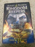Kingdom Keepers: The Insider Bk. 7 by Ridley Pearson (2014, Hardcover) SIGNED