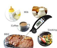 Digital Food Thermometer Probe Temperature Kitchen Cooking BBQ Turkey Mean Jam