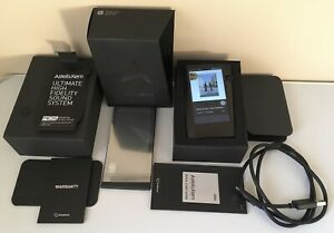 Rare Black Astel&Kern SR25 High-Resolution Player Mint Condition Astel & Kern