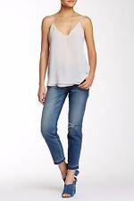 New Sneak Peek SP Black Girlfriend Skinny Distressed Sz 10 (30) Jeans